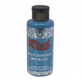 Rich Multi Surface Metalik Boya 130cc - 6532 TURKUAZ