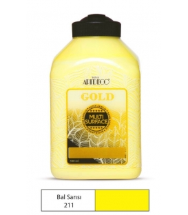 Artdeco Multi Surface Akrilik Boya 500ml Bal Sarısı 211