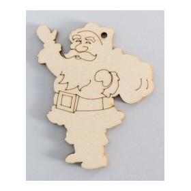 Lazer Kesim Paket Süs Noel Baba YB18