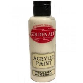 Golden Art Akrilik Boya 130cc - 002 KEMİK