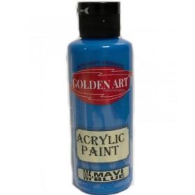 Golden Art Akrilik Boya 130cc - 005 MAVİ