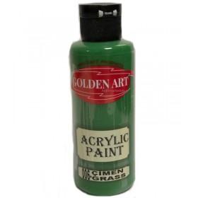 Golden Art Akrilik Boya 130cc - 006 ÇİMEN