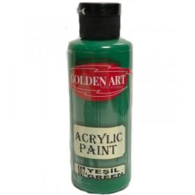 Golden Art Akrilik Boya 130cc - 007 YEŞİL
