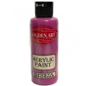 Golden Art Akrilik Boya 130cc - 008 FUŞYA