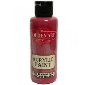 Golden Art Akrilik Boya 130cc - 009 KIRMIZI