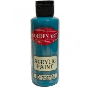 Golden Art Akrilik Boya 130cc - 013 TURKUAZ