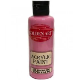 Golden Art Akrilik Boya 130cc - 016 PEMBE