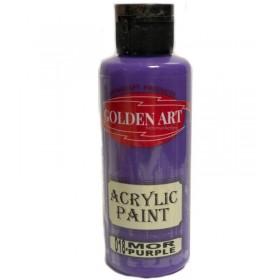 Golden Art Akrilik Boya 130cc - 018 MOR