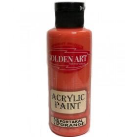 Golden Art Akrilik Boya 130cc - 019 PORTAKAL