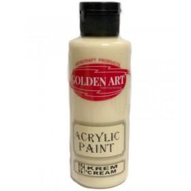Golden Art Akrilik Boya 130cc - 021 KREM