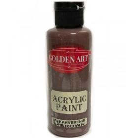 Golden Art Akrilik Boya 130cc - 024 KAHVERENGİ