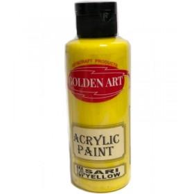 Golden Art Akrilik Boya 130cc - 020 SARI