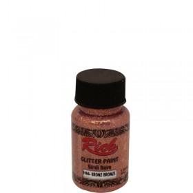 Rich Simli Boya (Glitter Paint) 50cc - BRONZ 9004