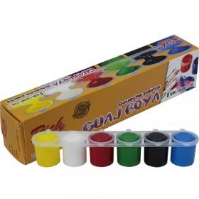 Rich Öğrenci Tipi GUAJ Boyası 6 Renk x 25ml