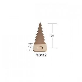 Çam Ağacı Mumluk Ahşap Obje