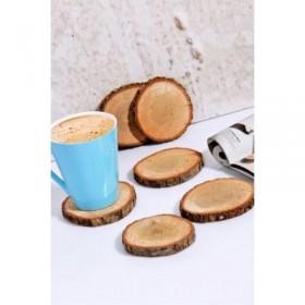 Doğal Odun Dilimi (7 - 9cm) - TANE