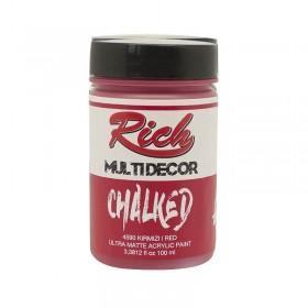 Rich Multi Decor Chalked Akrilik 4588 - Kırmızı  100cc