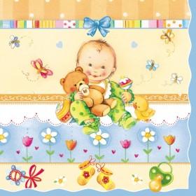 Maki Peçete 401-012301 Özel Desen 33x33