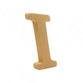 18mm I - Harf Ahşap Obje HR11 Yükseklik: 15 cm