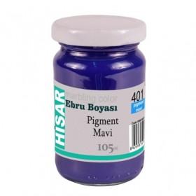 Hisar Ebru Boyası 105 ml 401 Pigment Mavi