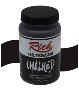 Rich Multi Decor Chalked Akrilik 250cc 4588 ÇİKOLATA