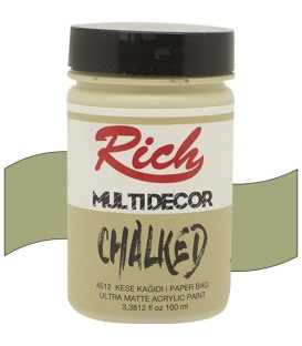 Rich Multi Decor Chalked Akrilik 4512- Kese Kağıdı 100cc