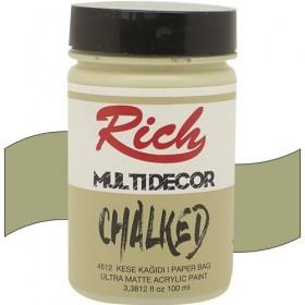 Rich Multi Decor Chalked Akrilik 4512- Kese Kağıdı 100cc