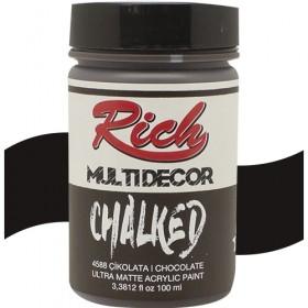 Rich Multi Decor Chalked Akrilik 4588 - Çikolata 100cc