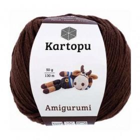 Kartopu Amigurumi El Örgü İpi Kahverengi