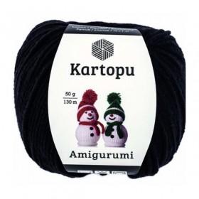 Kartopu Amigurumi El Örgü İpi 50gr SİYAH