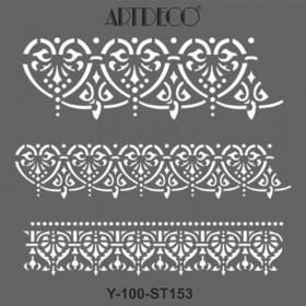 Artdeco Stencil 30x30cm -ST153