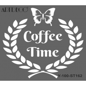 Artdeco Stencil 30x30cm -ST162