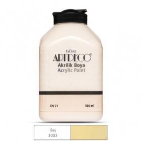 Artdeco 500ml 3003 Bej Akrilik Boya