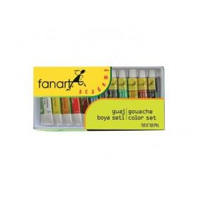 Fanart Academy Guaj Boya Seti 12 Renk x 12ml