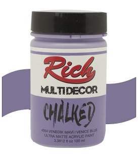 Rich Multi Decor Chalked Akrilik 4554- Venedik Mavi 100cc