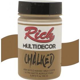 Rich Multi Decor Chalked Akrilik 4584 -Sütlü Kahve 100cc