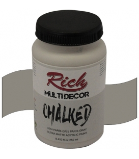 Rich Multi Decor Chalked Akrilik 250cc 4574 PARİS GRİ