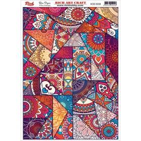 Rich Pirinç Dekopaj Kağıdı P-8338