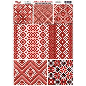Rich Pirinç Dekopaj Kağıdı P-8316