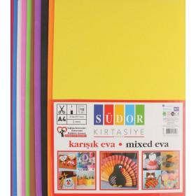 Eva 20x30 cm 10 Renk Karışık