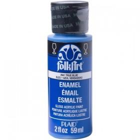 Plaid Folkart Enamels Fırınlanabilir Seramik Boyası 2841 True Blue