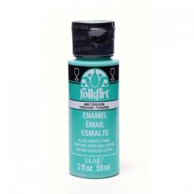 Plaid Folkart Enamels Fırınlanabilir Seramik Boyası 4066 Turquoise