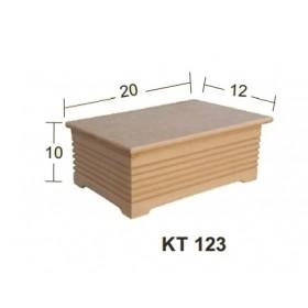 Panjur Kutu Küçük 20x12x10 cm. Ahşap Obje
