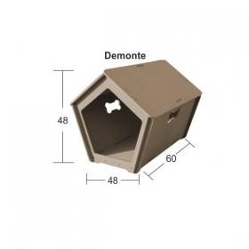 Köpek Evi (Demonte) Ahşap Obje 48x48x60cm