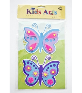 Kids Arts Keçe Sticker Kelebek FT-701