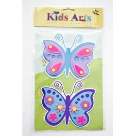 Kids Arts Keçe Sticker Kelebek FT-701