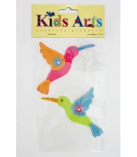 Kids Arts Keçe Sticker 2'Lİ Kuş FT-7131