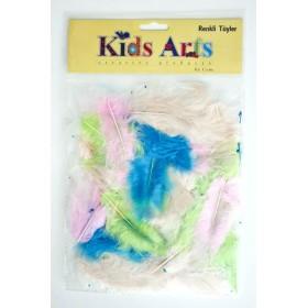 Kids Arts Renkli Tüyler HX-130707