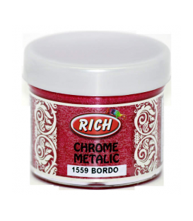 Rich Chrome Metalic 1559 Bordo