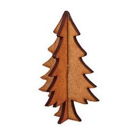 Çam Ağacı Minyatür Ahşap Obje
